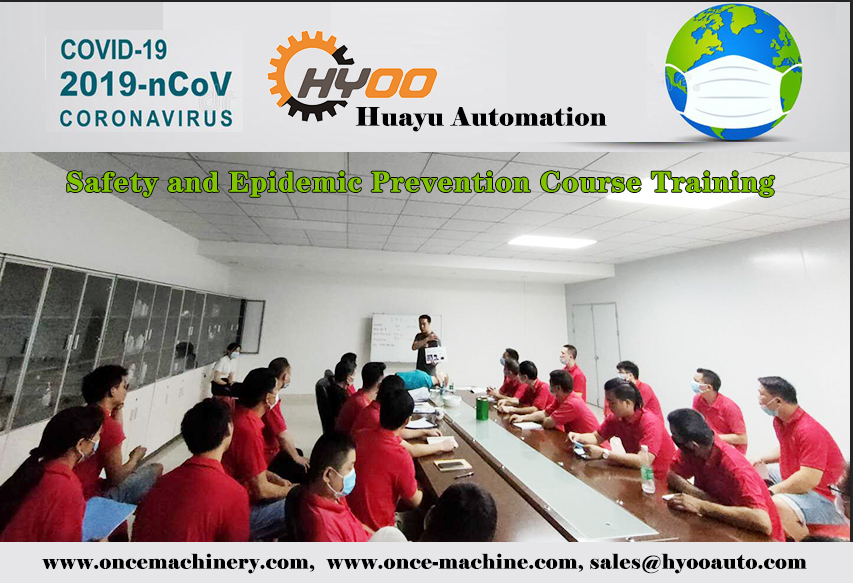 Huayu Automation Screen Printing Machines for Medical centrifuge tubes, syringes/injectors
