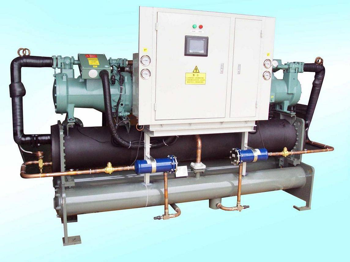 Packaged Water-Cooled Screw Chiller