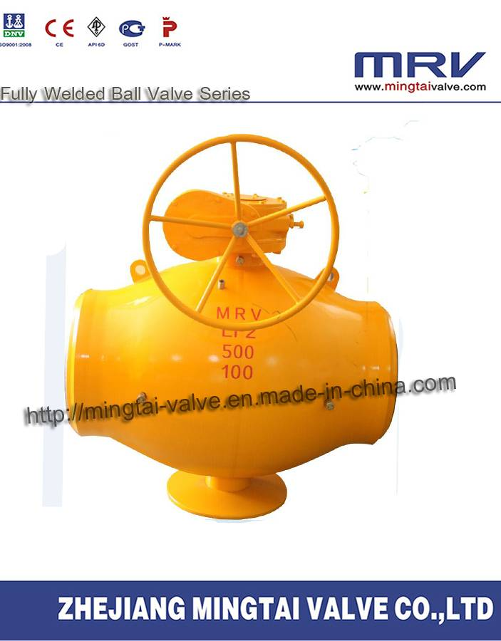 Stainless Steel Single Welding Line Ball Valve