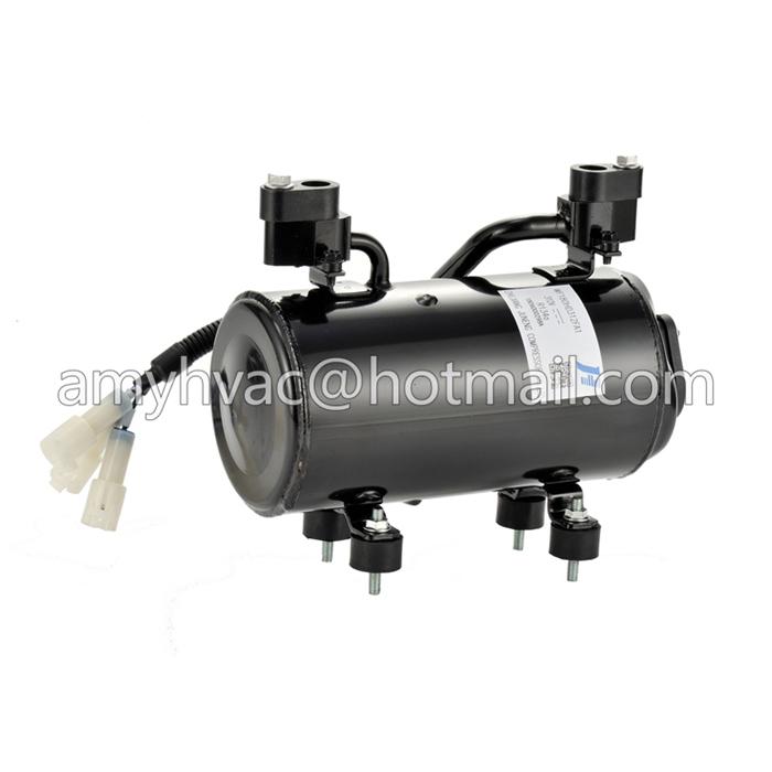 brushless dc 48v electric compressor for battery bank cooling system