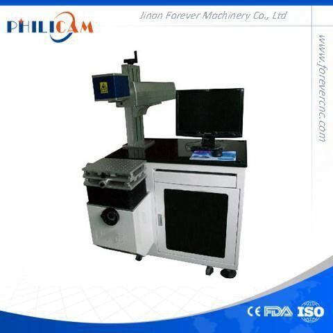 Jinan cnc machine high speed 20w fiber laser marking machine