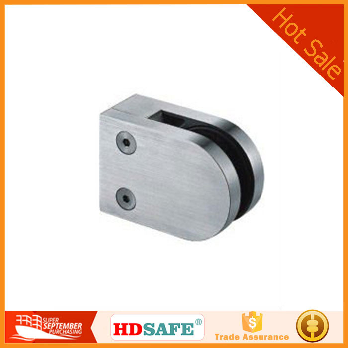 stainless steel round glass clamp for balustrade design in China