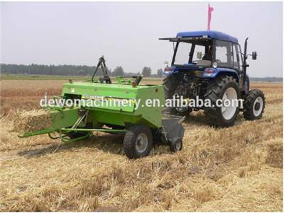 Factory directly sale tractor driven mini square rice straw baler machine