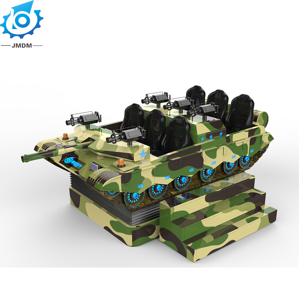 China Factory high quality vr equipment vr tank simulator for game center