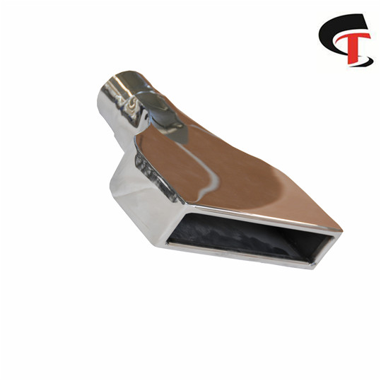Polished Exhaust Tip Square Stainless Steel