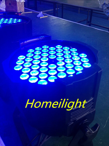 54X3W RGB Indoor LED PAR Can Light for Stage decoration