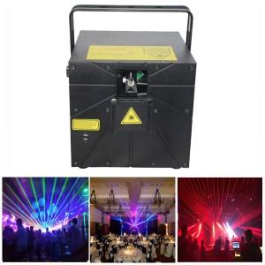 RGB 8W Laser Show Stage Lighting (GA-635-RGB8000)