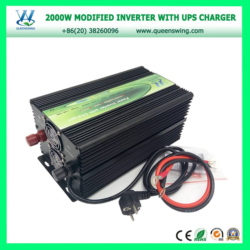 2000W UPS DC AC Power Inverter with 20A Charger (QW-M2000UPS)