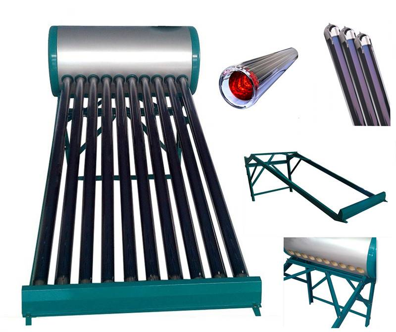 Evacuated tube solar water heater,solar energy solar collector