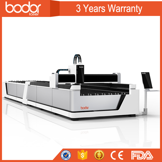 automatic dual exchange platform fast speed carbon sheet fiber laser cutting machine E1530 for metal