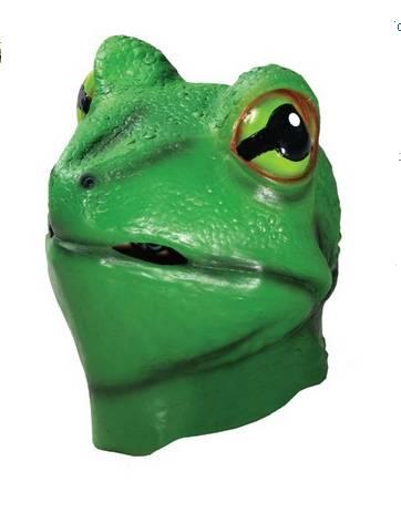 Youtumall Deluxe Latex Frog Mask Costume Mask