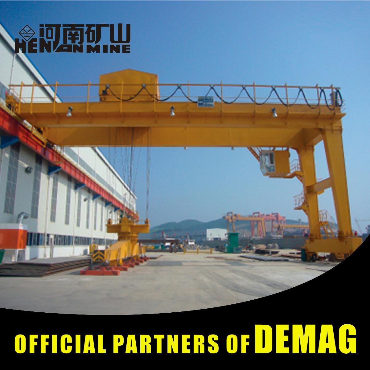 1 Ton Semi Workshop Professional Hydraulic Gantry Crane For Boat Lift