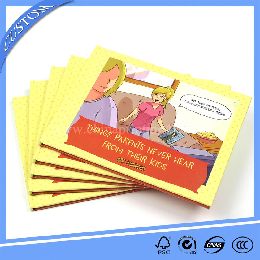 hot sell hardcover children book printing book printing china