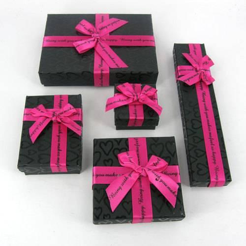 2-pc paper jewelry box