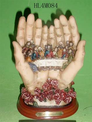 Polyresin religious decor (last supper)