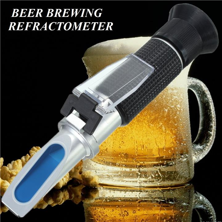 beer grape alcohol refractometer with ATC