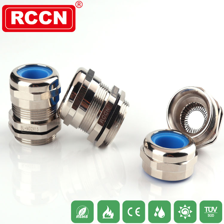 Brass cable gland IP68 EMC