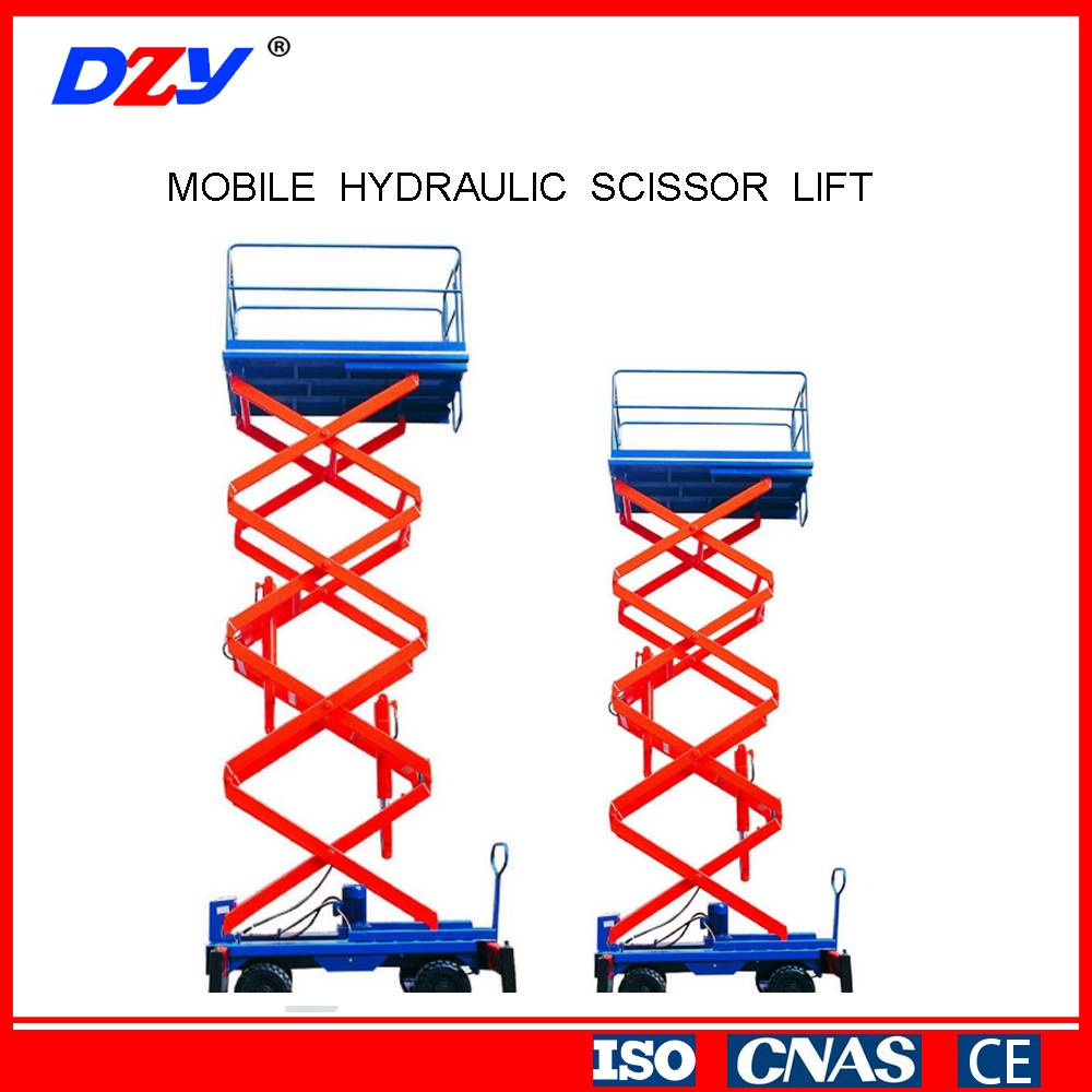 High Quality Electric Scissor Lifting Equipment