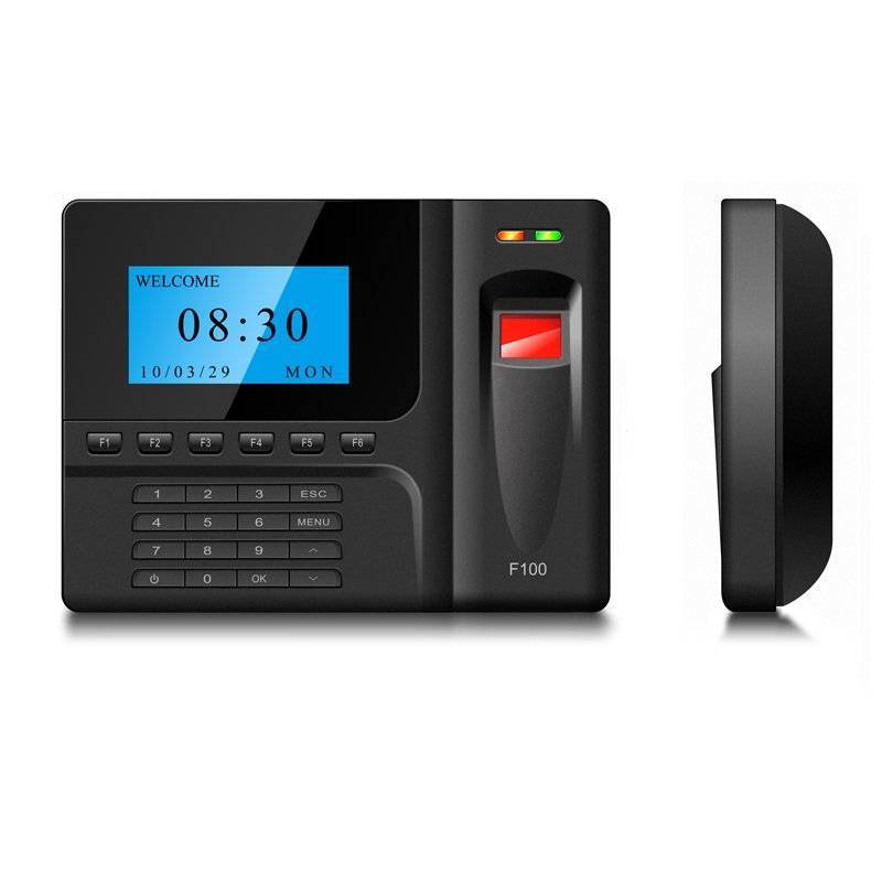 F100 fingerprint time attendance and access control