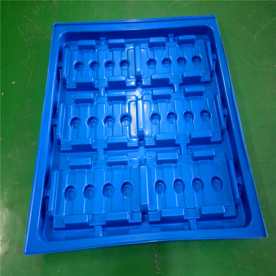 custom High Quality thermoformed/ Vacuum Forming extra large plastic tray