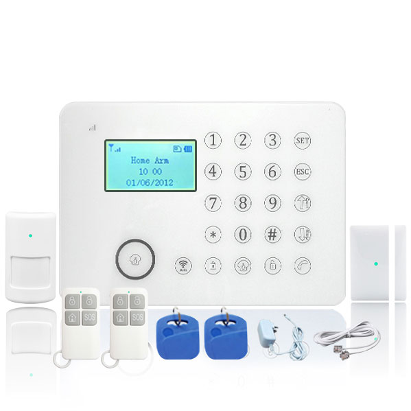 touch screen GSM LCD Alarm system E911 plus