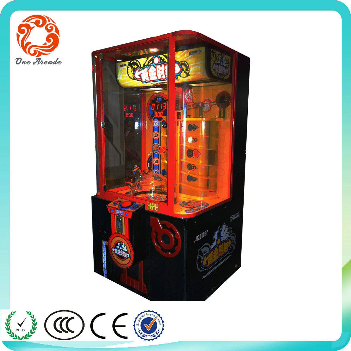 Best Selling Golden Time Coin Operated ticket redemption game machine
