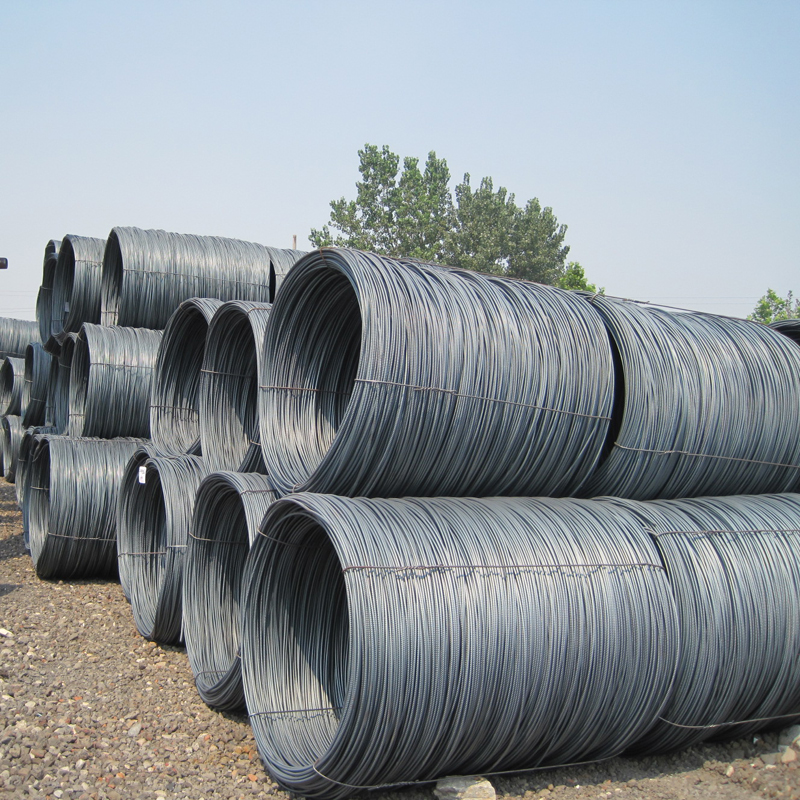 6.5mm and 8.0mm high speed low carbon steel wire rods