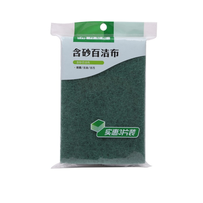 Wholesale Sponge Kitchen Scouring Pad Scrub Pad Green Scouring Pads For Dishes