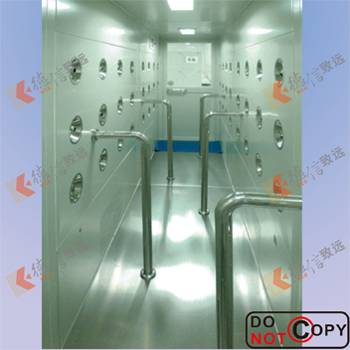 air shower -tunel type