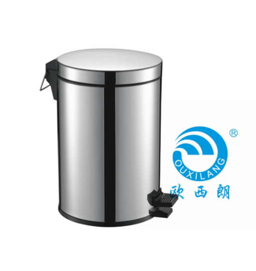 Stainless steel 304# waste bin 3L - 12L