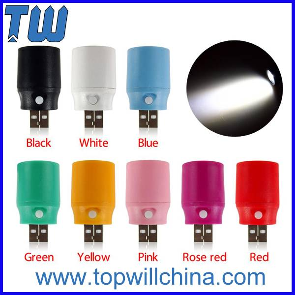 Single Ultra Bright Protable Usb Led Light for Outdoor Low Porwer