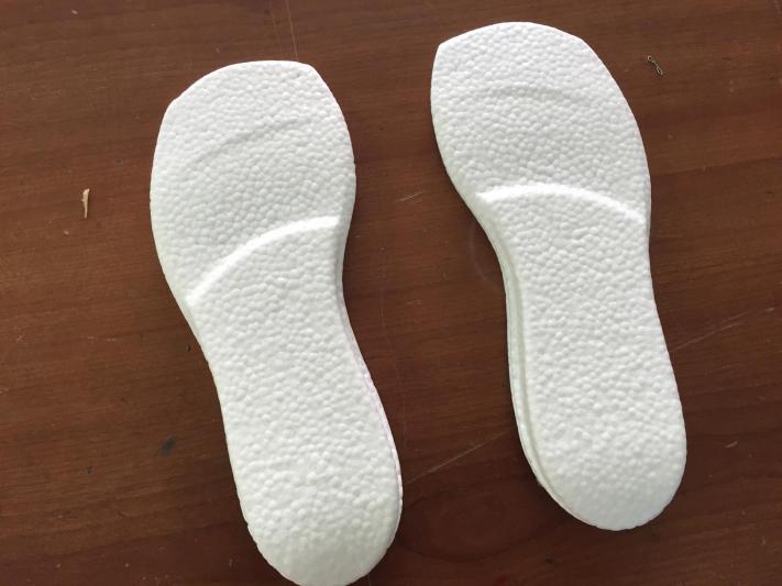 Ultra Boost E-TPU foam sheet for shoe soles