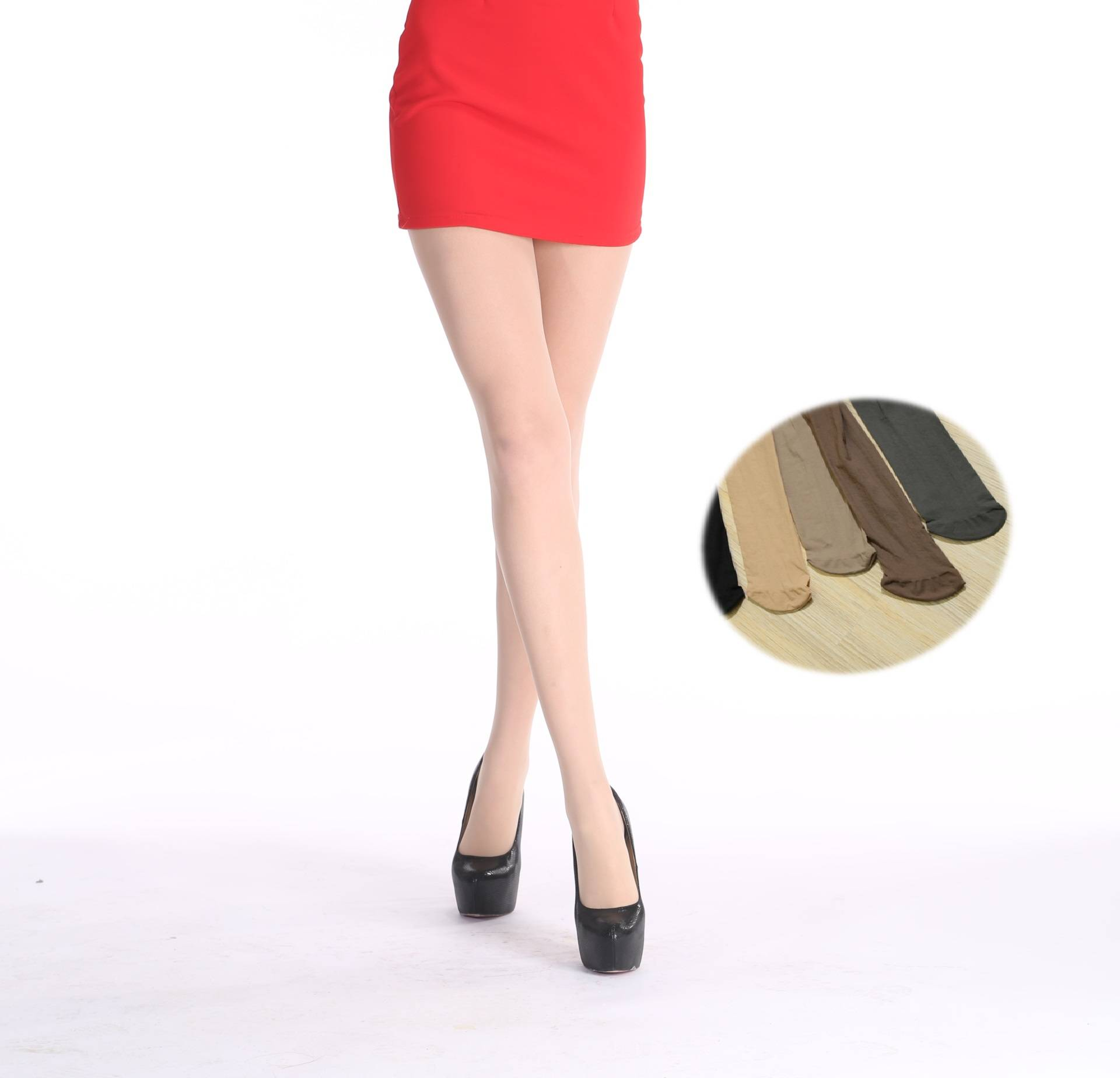 20D Breathable soft Velvet pantyhose