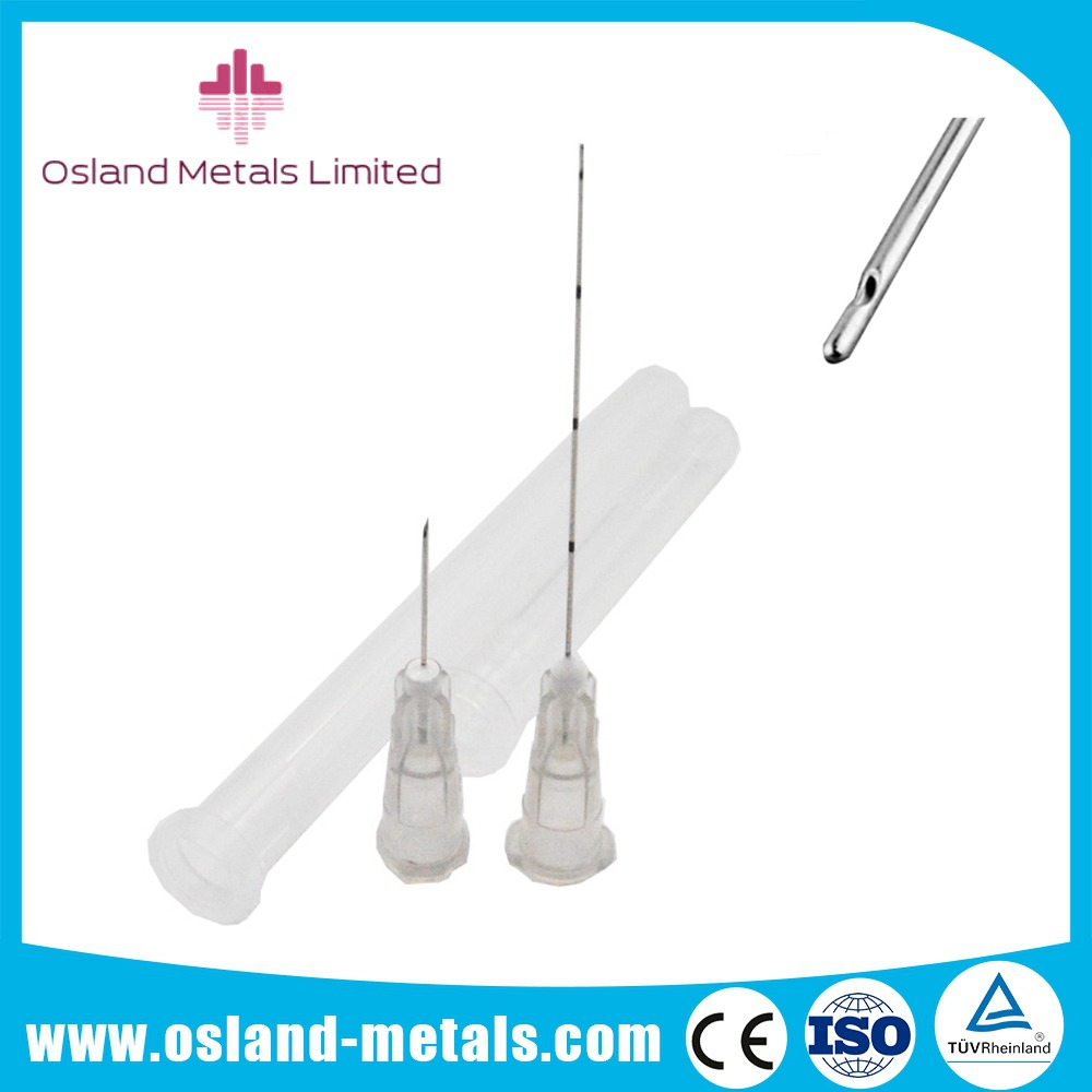 High Quality Medical Micro Cannula Flexible Disposable Blunt Tip Needle for Face Lifting and Filler
