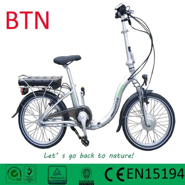 BTN EN15194 2016 HOT SALE 36v 20 inch 250w electric cycle