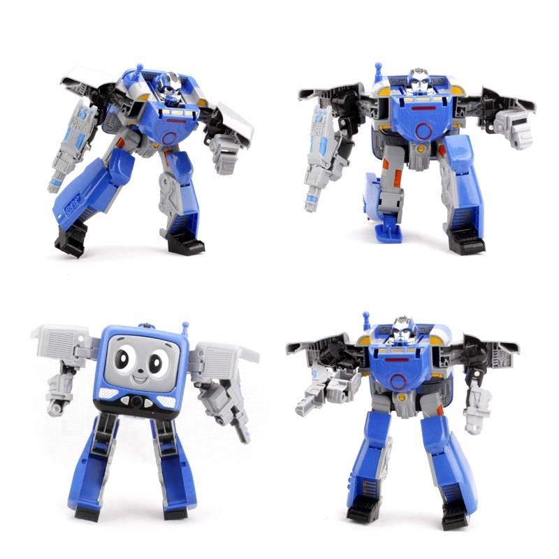 Intelllegent Cute Robot Toy Transfomer model toy Plastic Toys