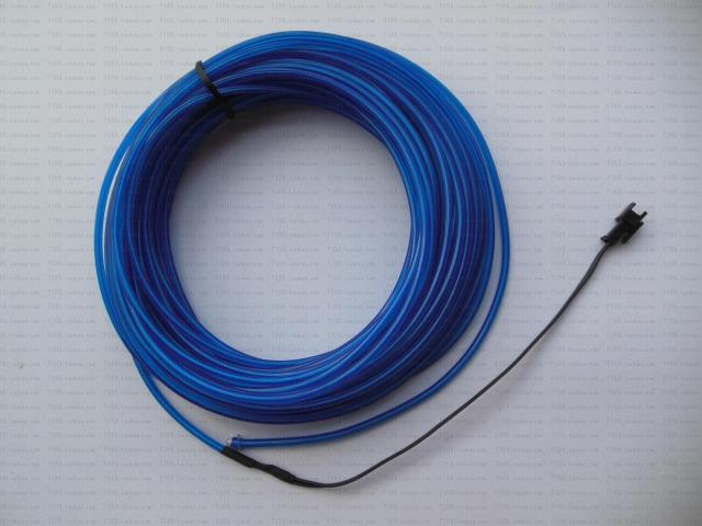 Colorful EL wire flashing indoor decoration 3M 4M flexible and idea show EL wire