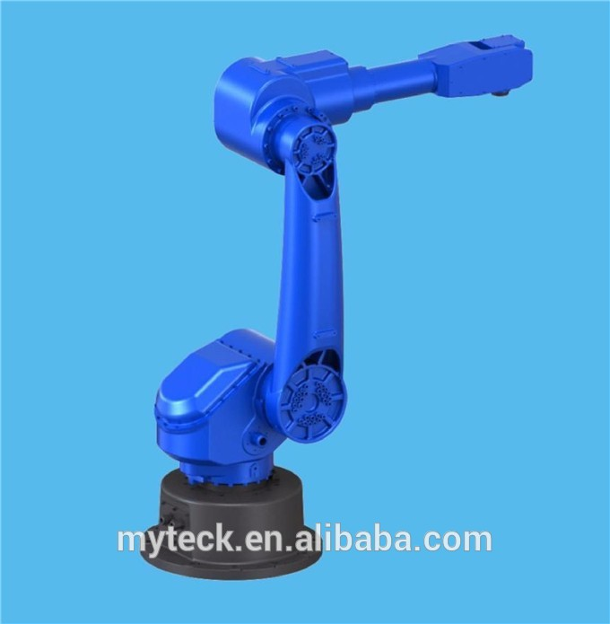 Automatic Robotic Arm/hand Palletizer 6 axis for 25kg
