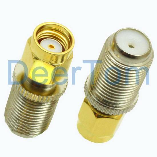 F Female to RP-SMA Adaptor Adapter Connector