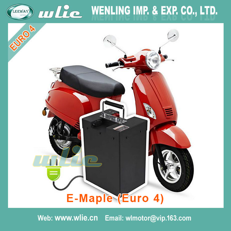 With Euro 4 EEC 3000w electric Scooter E-Maple(Euro 4)