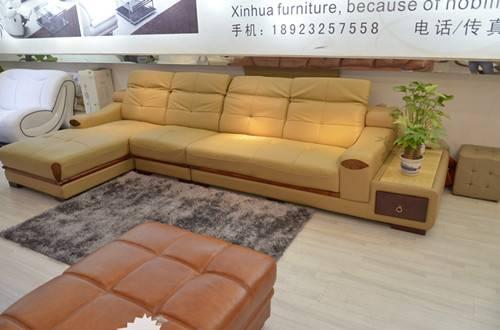 Living room furinture leather sofa h895