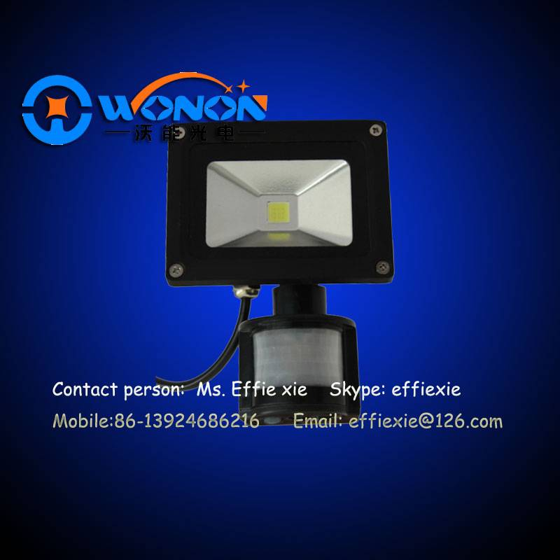 10W LED Flood Light with Sensor