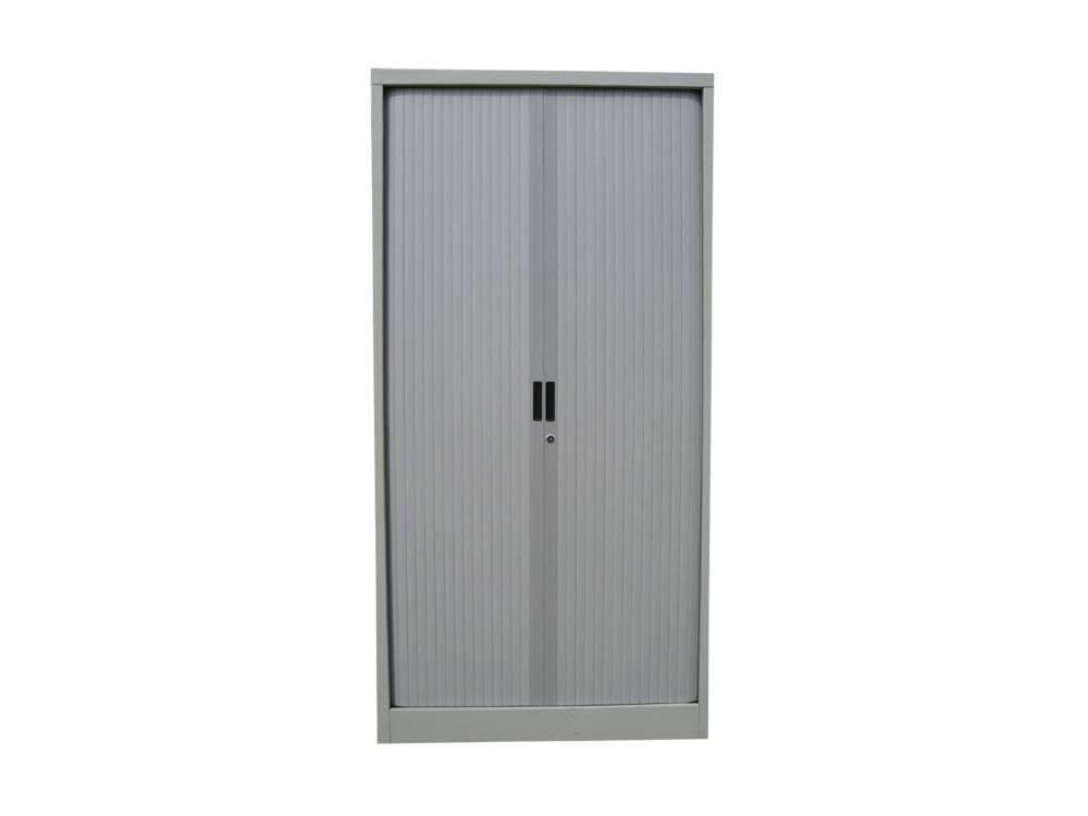 2 Color Rolling Door Modern Metal Furniture Cabinet