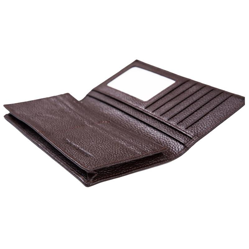 Stylish  Cowhide Leather Foldable RFID Wallet Men,Anti Theft RFID Protected Wallet