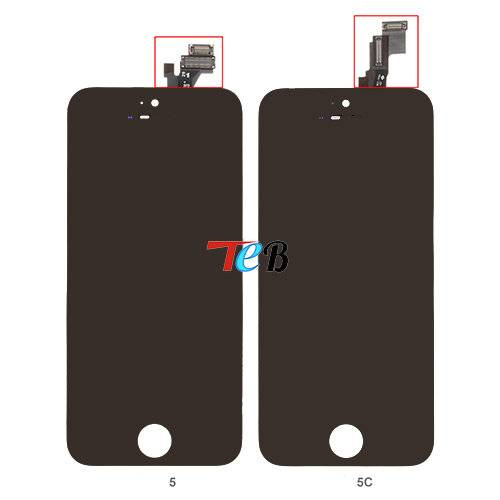 Brand new test well lcd touch screen for iphone 5/5g
