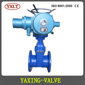 Electric Resilient Seated Gate Valve