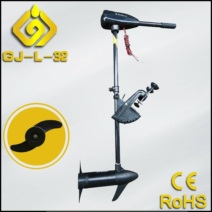 DC 12/24V Foldable Handle Electric Outboard Motor