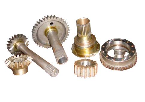 Spare parts for construction machinery