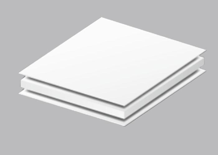 Aluminum PVC Foamed Composite Panels