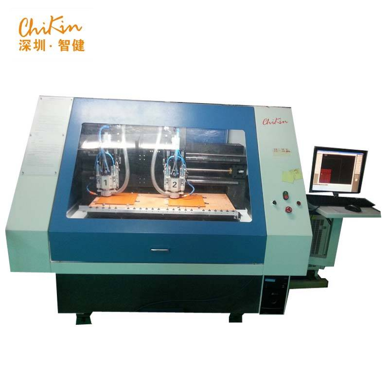 2 Heads CNC PCB Drilling and Routing Machine